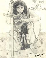 Sketches - Prithavi Raj Chauhan - Pencil  Paper