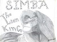 Sketches - Simba - Pencil  Paper