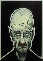 Faces - Mr White - Acrylic