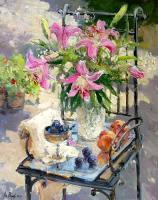 Impression - Still Life With Lilies - 50X40