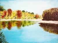 Realism - Pearl River At Jackson - Oil