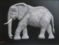 Animals - Elephant - Cement  Aluminum