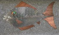 Animals - Fish - Steel Copper Aluminum