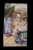 Old Lahore - Oil Paintings - By Hira Mursaleen, Realistic Painting Artist