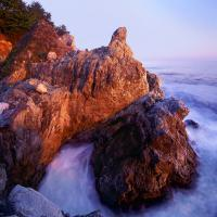 Big Sur Sunset - Photography Mixed Media - By Dean Uhlinger, Photorealism Mixed Media Artist