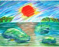 Paintings - Sunkinod - Watercolor