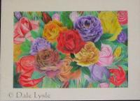 Colour Pencil - Bed Of Roses - Colour Pencil