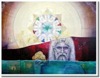 Spiritual Religious - Messiah From The Sea - Oil On Canvas