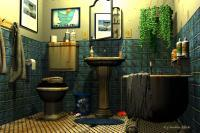 Humor - The Throne Room - Bryce Software