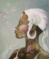 Portraits - Flora Nigra - Oil On Canvas