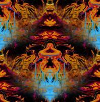 Abstract - Oriental Abstract - Digital