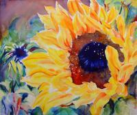 Florals - Sunburst - Watercolor