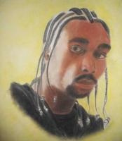 Krayzie Bone - Pastel Other - By Deshawn Bryant, Pastel Other Artist