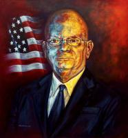 Portrait - Ambassador James Entwistle - Oil On Canvas