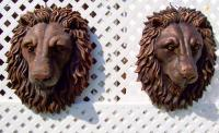 Animals - Lion Head Life-Size Wall Realistic - Cast Epoxy