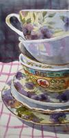 Still Life - Teatime - Watercolor