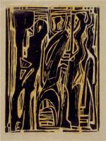 Woodcut Print - Untitled - Woodcut Print