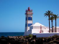 Santa Marta Lighthouse - Digital Photography - By Robert Fisher, Realism Photography Artist