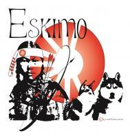 Oriental Native American Indian Eskimo - Adobe Illustrator Cs6 Digital - By Kenneth Ruxton, Abstract Digital Drawing Digital Artist