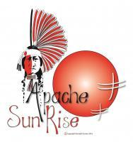 Apache Sunrise - Adobe Illustrator Cs6 Digital - By Kenneth Ruxton, Abstract Digital Drawing Digital Artist