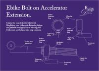 Ebike Accelerator Extension - Adobe Illustrator Cs6 Digital - By Kenneth Ruxton, Illustration Digital Artist