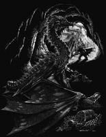 Dragons - Dragons Treasure - Scratchboard