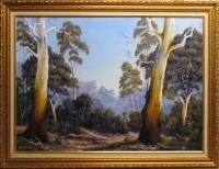 Landscapes - The Scent Of Gumtrees - Oil Paint