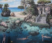 Paradise Regained - Acrylic Paintings - By Dmitry Korman, Classical Realism Painting Artist