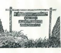 Pen And Ink - Cross Roads - Pen And Ink
