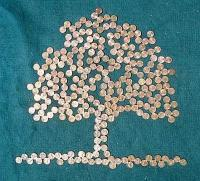 Save Your Pennies Because Mony Doesnt Grow On Trees - Mixed Media Mixed Media - By John Kovacich, Modern Mixed Media Artist