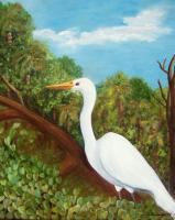 Still Life - King Of The Marsh - Oils On Canvas