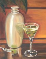 Shaken Not Stirred - Oils On Canvas Paintings - By Susan Dehlinger, Traditional Painting Artist
