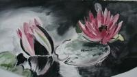 Soundarya- The Beauty Series - When I Bloom - Oil On Wood