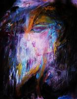 Soundarya- The Beauty Series - Contemplation - Acrylic On Canvas