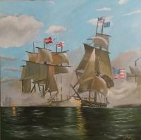 Tall Ships - The Battle Of Lake Erie - Acrylic