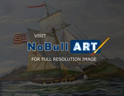 Tall Ships - Fighting For Freedom - Water Mixable Oils