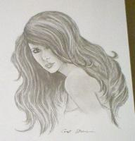 Portraits - Jennifer Love Hewitt - Pencil