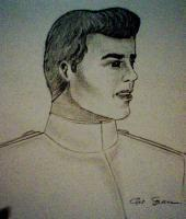 Portraits - Cinderellas Prince Charming - Pencil