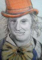 Drawing - Gene The Real Willy - Mixed Medium