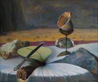 Still-Life - Waiting N1 - Oil On Canvas