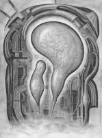 Surrealism - Superhuman - Pencil On Paper