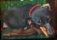 My Girl - Acrylic Paintings - By Erin Altenburg, Animals Painting Artist