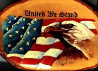 United We Stand - Wood Burning Other - By Daren Tanner, Wood Burning Other Artist
