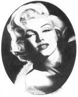 Noir Classics - Marilyn Monroe - Pencil