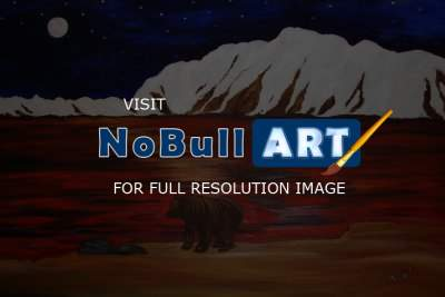 Nini Arts Studio - Mountain View - Acrylic