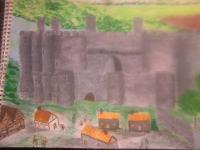 Historical Buildings - Conway Castle - Acrylic