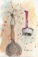Water Color - Kitchen Things - Watercolor