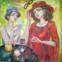 Unsorted - In Caffee - Oil Canvas