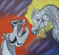 Serie Picasso - Irreallity - Acrylic