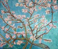 Serie Van Gogh - Branches On Flowers - Oil